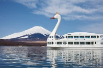 """Lake-Yamanakako-Pleasure-Cruiser-""Swan-Lake"