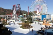 Fuji-Q-Highland-ice-skating-rink