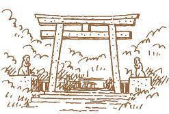 吉田口登山道イラスト