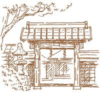 御師住宅(旧外川家住宅)イラスト