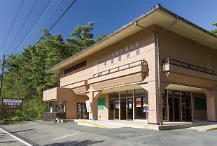 本栖湖観光案内所に併設された本栖歴史館
