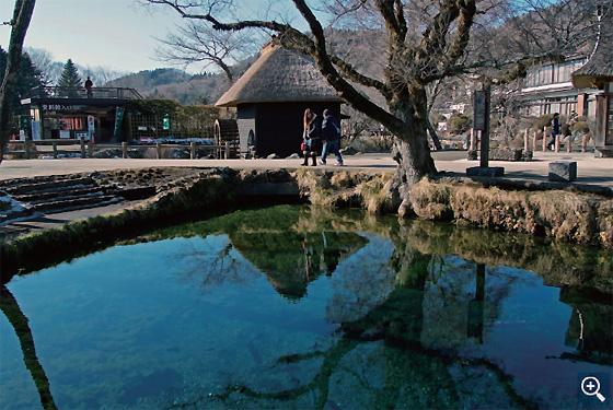 忍野八海「湧池」